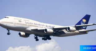 طائرات الخطوط الجوية السعودية بازدياد