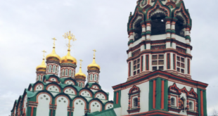 مهاجمة رعايا كنيسة القديس نيكولاس في موسكو