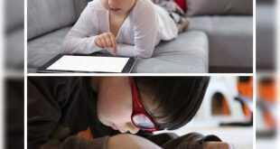 الطفل المتعلق بالاجهزة اللوحيه وكيفية تجنبها