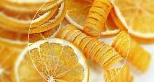 الليمون .. و طريقة تجفيفه