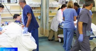 مستشفيات فرنسا تواجه الصعوبات بسبب الفايروس