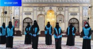 تطوع 8 نساء لتعقيم جوامع الأحساء