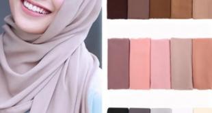 لون الحجاب المناسب لبيضاء البشرة