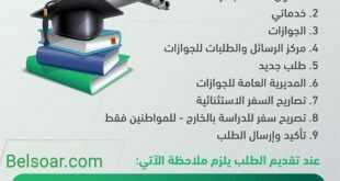 لطلاب الجامعات : تصاريح سفر استثنائية